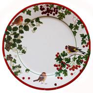 Winter Birds (Domherre) Dinner Plates (9390DP)