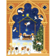 Caspari Advent Calendar - Angels Christmas (ADV247)