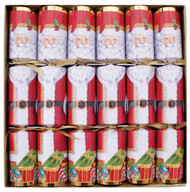 Caspari Crackers - Santa (CK022)