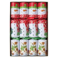 Caspari Christmas Crackers - Snow Friends (CK032)