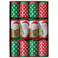 Caspari Christmas Crackers - Santas (CK033)