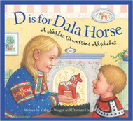 D is for Dala Horse Book (65104H)