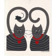 Swedish Dishcloth - Cats (218.71)