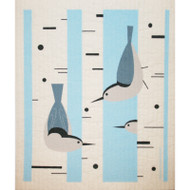 Swedish Dishcloth - Nuthatch (218.9)