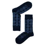 Bengt & Lotta Socks - Candy - Blue - merino-wool/cotton blend (710640)