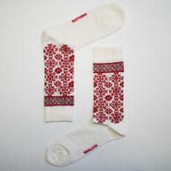 Bengt & Lotta Woolen Socks - Fjallnas - White (710804)