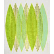 Swedish Dishcloth - Blade Leaves Green (218.41G)