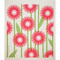 Swedish Dishcloth - Daisies - Pink (218.89P)