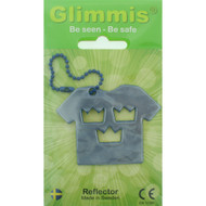 Glimmis Reflector Tag - Three Crowns T-Shirt (550.02B)