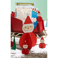 Nordic Santa Decoration - Wooden  (8821551)