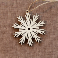 Nordic Snowflake Ornament (8821661)