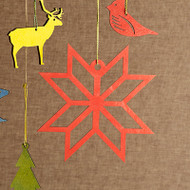 Festive Nordic Star Ornament (8822323)