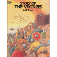 The Story of the Vikings - Coloring Book (256537)