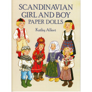 Scandinavian Girl and Boy Paper Dolls (276848)