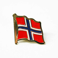 Norway Flag Pin (100NW)