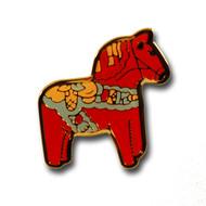 Dala Horse Pin (104C)