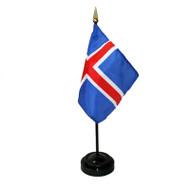 Iceland Table Flag (TF-I)