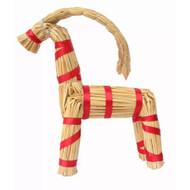 "Straw Goat, 12"" H - 30 cm (H1-299)"