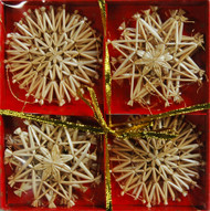 Straw Star Ornaments (H1-62)