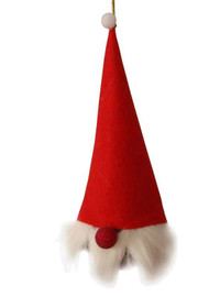 Tomte With Tall Hat Ornament (H1-745)