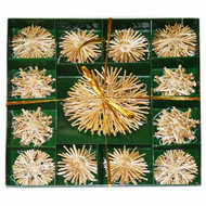 Straw Star Ornament Boxed Set (H1-77)
