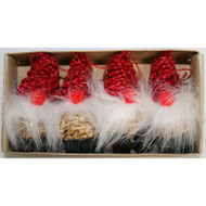 Straw Ornaments - Bearded Santa (H1-803)