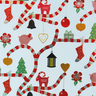 "Christmas Wrapping Paper - Candy Canes - 23"" x 48"" (16293)"