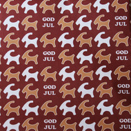 "Wrapping Paper - Pepparkakor Jul - 23"" x 72"" (34106)"