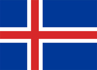 Iceland Flag Decal (576)