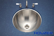 Houzer Club Houzer Opus lavatory conical bowl, 6-1/4 IN D, 18 ga Single pack Stainless Steel CRO-1620-1