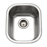 Houzer Club Houzer Club large bar/prep sink, 7 IN deep 18 ga Stainless Steel CS-1607-1