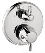 HANSGROHE 04221000 THERMO TRIM WITH VOL CONTROL AND DIVERTER F/2 OUTLET POL CHROME HANSGROHEINC. 987958 987958