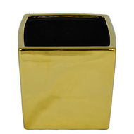 Viz Floral Gold Ceramic Cubes 5X5X5