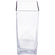 Viz Floral 3x3x14rectangular glass vase