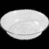 """Viz Floral Pie Dish 8"""" Clear"""