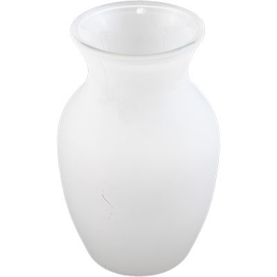 Frosted Glass 375 X 325x 8 Vase 12 Per Case All Floral Supplies