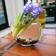 "Glass Flat Envelope Vase 10"" High (6 Per Case)"