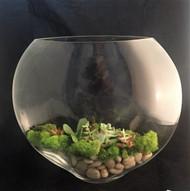 Glass Flat Envelope Vase 13-1/4 High ( 3 Per Case)