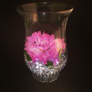 "Glass Vase 7""x 5""x 10"" (6 Per Case)"