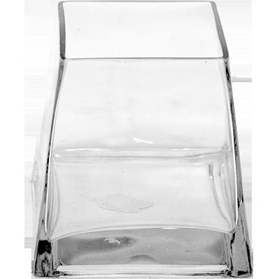"Viz Floral Glass Tapered Vase 3.5"" X 3.5"" X 5"""