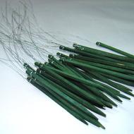 "Viz Floral Wire Wood Picks 6"""