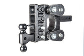 "GH-1224 Torsion Flex Hitch, 2.5"" up and 5"" down (or vice versa) Includes hitch, Dual ball mount, pintle lock 16,000 LBS"
