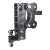 "GH-1326 Drop 12"" or Rise 3"" (or vice versa), Includes Hitch, Dual ball, pintle lock, 21,000 LBS"