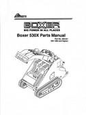 Boxer 530X Parts Manual