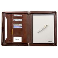 Artex 'Business Buddy' A4 Zip Around Compendium - Sienna Brown