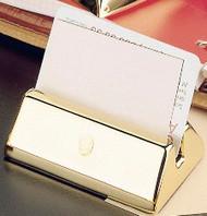 El Casdo Desk Business Card Holder