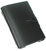 Ciak Mood Notebook - Black (15cm X 21cm) with Pen
