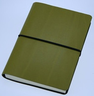 Ciak Notebook - Olive (15cm X 21cm - Blank Pages)