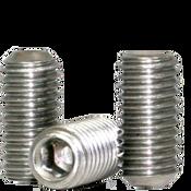 "#1-72x3/8"" Socket Set Screws Cup Point Fine 18-8 Stainless (1,000/Bulk Pkg.)"