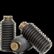 "#10-24x1/2"" Brass-Tip Socket Set Screws Cup Point Coarse Alloy (1,000/Bulk Pkg.)"